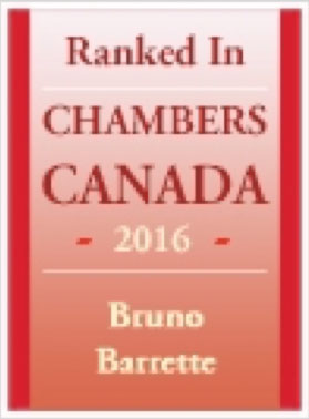Firms - Chambers and Partners - Bruno Barrette